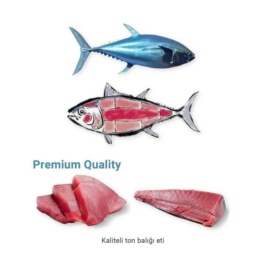 Me-O Tahılsız Yengeç Etli Tuna Balıklı Yaş Kedi Maması 70 GR