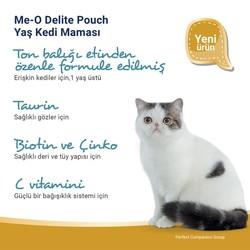 Me-O Tahılsız Yengeç Etli Tuna Balıklı Yaş Kedi Maması 70 GR - Thumbnail