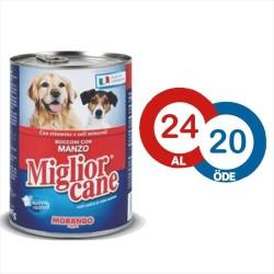 Miglior - Miglior Cane Biftekli Köpek Konservesi 405 GR ( 24 AL 20 ÖDE )