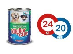 Miglior - Miglior Cane Biftekli ve Sebzeli Köpek Konservesi 405 GR - 24 AL 20 ÖDE
