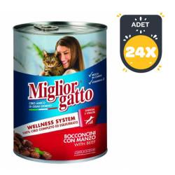 Miglior - Miglior Gatto Biftekli Kedi Konservesi 405 GR ( 24 AL 20 ÖDE )