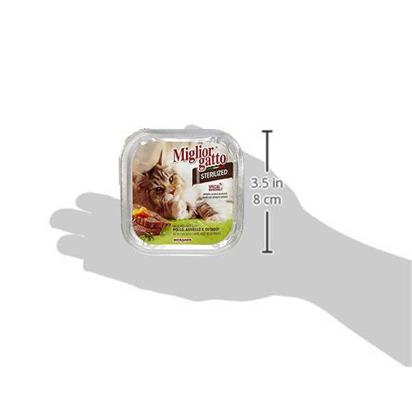 Miglior Gatto Tavuk Kuzu Ve Sebzeli Kısırlaştırılmış Kedi Konservesi 100 Gr