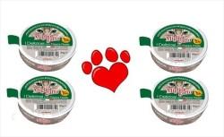 Miglior - Miglior Propolis Katkılı Tavuk ve Av Hayvanlı Kedi Konservesi Pate 85 GR * 4 ADET
