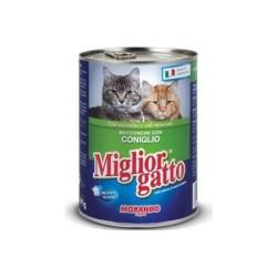 Miglior - Miglior Tavşanlı Kedi Konservesi 405 GR