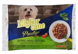 Miglior - Miglior Tavuk ve Hindili Yaş Köpek Maması 4*100 GR