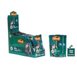 Mitonne - Mitonne Kedi Ördek ve Tavuklu Yaş Mama 100gr 15'li Paket