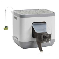 Moderna - Moderna Cat Consept Yatak - Tırmalama - Tuvalet - 40*48*43 CM
