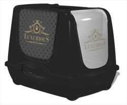 Flip - Moderna Trendy Luxurious Kapalı Kedi Tuvaleti 50 CM