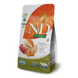 Farmina N&D - ND Bal Kabaklı Tahılsız Ördekli Kedi Maması 1.5 KG