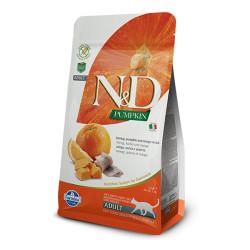 Farmina N&D - ND Tahılsız Bal Kabaklı Balıklı ve Portakalı Kedi Maması 1.5 KG