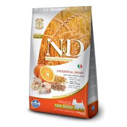 Farmina N&D - ND Düşük Tahıllı Balık ve Portakallı Küçük Irk Köpek Maması 7 KG