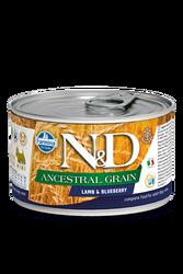 Farmina N&D - ND Düşük Tahıllı Kuzu Etli Yaban Mersinli Köpek Konservesi 140 GR