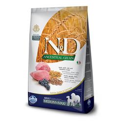 Farmina N&D - ND Düşük Tahıllı Kuzulu Medium Maxi Köpek Maması 2,5 KG