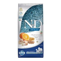 Farmina N&D - ND Düşük Tahıllı Ocean Morina Balıklı Portakallı Köpek Maması 2,5 KG