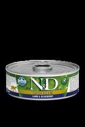 Farmina N&D - ND Tahılsız Kuzu Etli Yaban Mersinli Kedi Konservesi 80 Gr