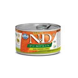 Farmina N&D - ND Mini Balkabaklı Yaban Domuzu Elmalı Köpek Konservesi 140 GR