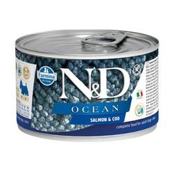 Farmina N&D - ND Mini Ocean Alabalık Somonlu Köpek Konservesi 140 Gr