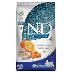 Farmina N&D - ND Ocean Bal Kabaklı Balıklı Küçük Irk Köpek Maması 7 KG