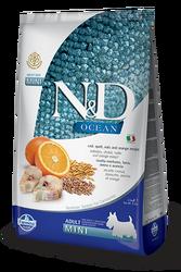 Farmina N&D - ND Düşük Tahıllı Ocean Balıklı Küçük Irk Köpek Maması 2,5 KG