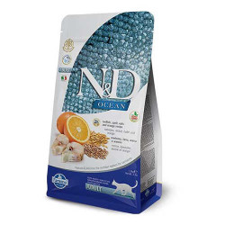 Farmina N&D - ND Ocean Düşük Tahıllı Balıklı ve Portakallı Kedi Maması 1.5 KG