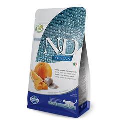 Farmina N&D - ND Ocean Balkabaklı Ve Ringa Balıklı Kedi Maması 1,5 KG