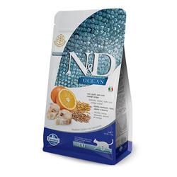 Farmina N&D - ND Ocean Düşük Tahıllı Balıklı ve Portakallı Kedi Maması 5 KG
