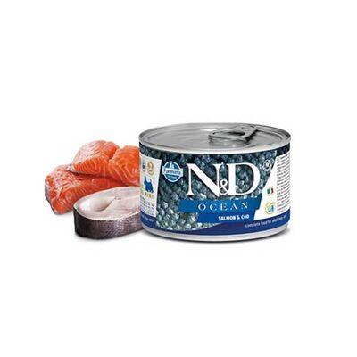 N&D Ocean Somon ve Morina Balıklı Köpek Konservesi 140 Gr