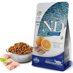 Farmina N&D - ND Ocean Tahılsız Balık ve Portakallı Kedi Maması 1.5 KG