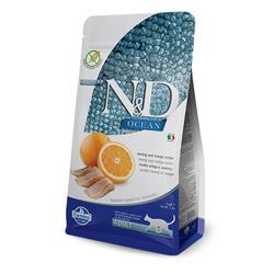 Farmina N&D - ND Tahılsız Ocean Balık ve Portakallı Kedi Maması 5 KG