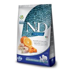 Farmina N&D - ND Ocean Tahılsız Balkabaklı Ve Morina Balıklı Köpek Maması 12 KG