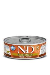Farmina N&D - ND Tahılsız Balkabaklı Geyik Etli Kedi Konservesi 80 GR