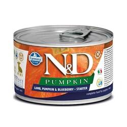 Farmina N&D - ND Tahılsız Balkabaklı Kuzu Etli Yavru Köpek Konservesi 140 GR