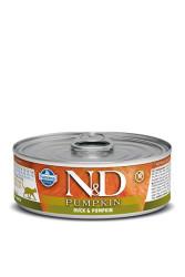 Farmina N&D - ND Tahılsız Balkabaklı Ördek Etli Kedi Konservesi 80 GR