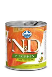 Farmina N&D - ND Tahılsız Balkabaklı Yaban Domuzu Elmalı Köpek Konservesi 285 GR