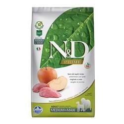 Farmina N&D - ND Tahılsız Domuzlu ve Elmalı Orta Büyük Irk Köpek Maması 12 KG
