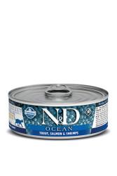 Farmina N&D - ND Tahılsız Ocean Alabalık Somonlu Kedi Konservesi 80 GR