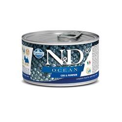 Farmina N&D - ND Tahılsız Ocean Balkabaklı Morina Balıklı Köpek Konservesi 140 Gr