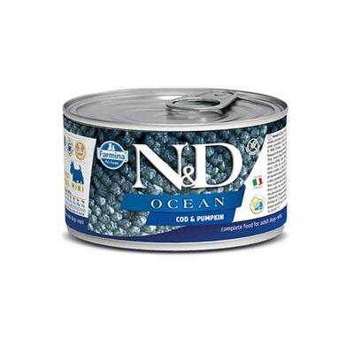 ND Tahılsız Ocean Balkabaklı Morina Balıklı Köpek Konservesi 140 Gr