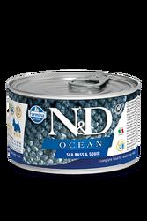 Farmina N&D - ND Tahılsız Ocean Levrek Ve Mürekkep Balıklı Köpek Konservesi 140 GR