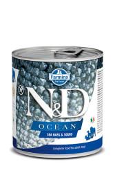 Farmina N&D - ND Tahılsız Ocean Levrek Ve Mürekkep Balıklı Köpek Konservesi 285 GR
