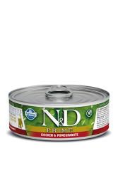 Farmina N&D - ND Tahılsız Tavuk Narlı Yavru Kedi Konservesi 80 GR