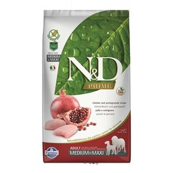 Farmina N&D - ND Tahılsız Tavuklu Orta-Büyük Irk Köpek Maması 2,5 KG