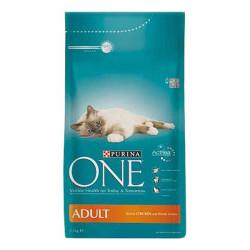 Nestle Purina One - Nestle Purina One Kediler İçin Tavuklu Kedi Maması 1.5 KG