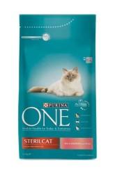 Nestle Purina One - Nestle Purina One Somonlu Kısırlaştırılmış Kedi Maması 1.5 KG