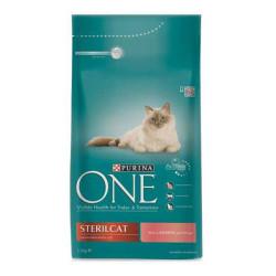 Nestle Purina One - Purina One Somonlu Kısırlaştırılmış Kedi Maması 1.5 KG