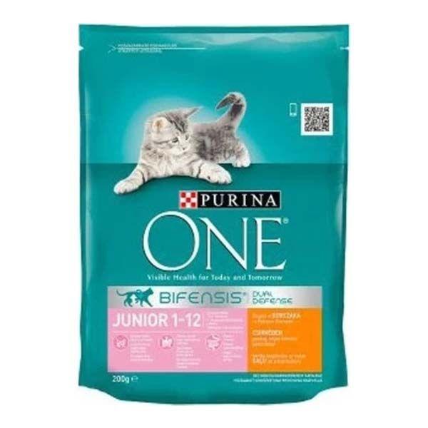 Nestle Purina One Tavuklu Yavru Kedi Maması 200 Gr