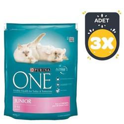 Nestle Purina One - Nestle Purina One Tavuklu Yavru Kedi Maması 800 GR * 3 Adet