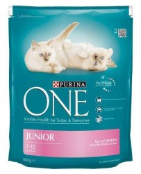 Nestle Purina One - Nestle Purina One Tavuklu Yavru Kedi Maması 800 GR