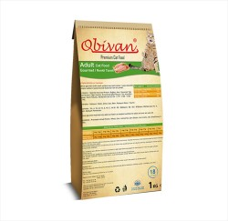 Obivan - Obivan Gourmet Kedi Maması 1 KG
