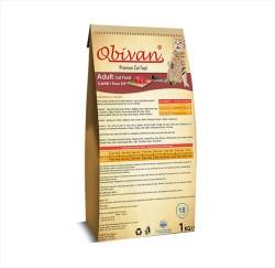 Obivan - Obivan Kuzu Etli Kedi Maması 1 KG